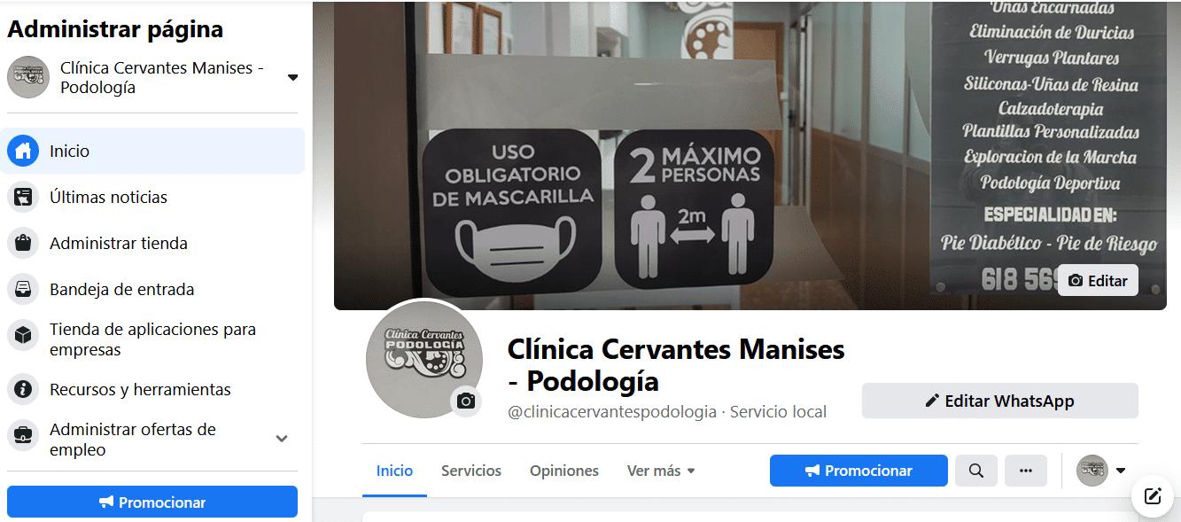 ejemplo de diseño web en valencia de portada de facebook
